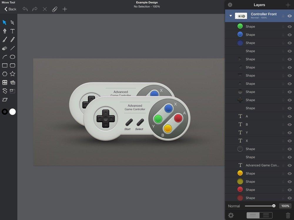 La mejor app para vectorizar en el iPad   Dase