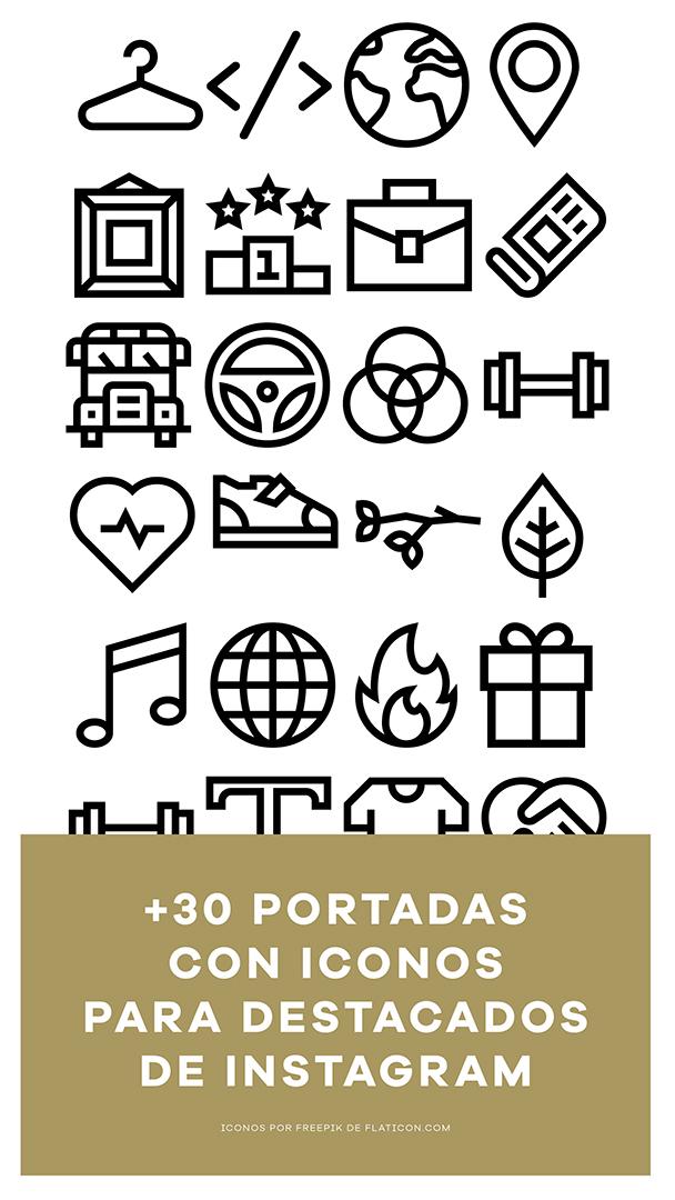 92a724d3133c1 Gratis. Descarga tu pack de portadas con iconos ...