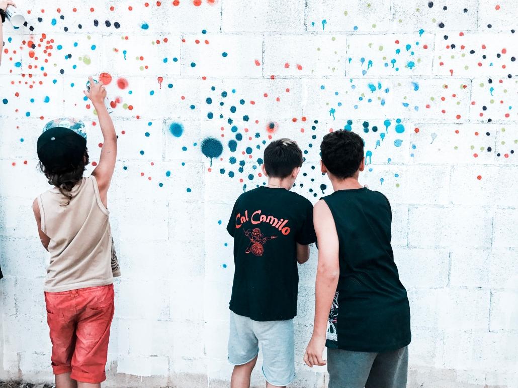 Curso Taller de graffiti Workshop Dase pintura mural