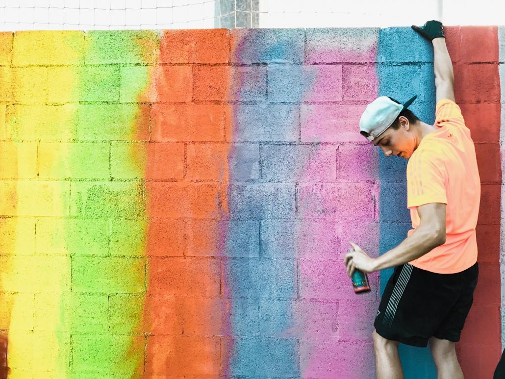 Taller De Graffiti Para Niños Y Adultos En Barcelona Madrid Dase