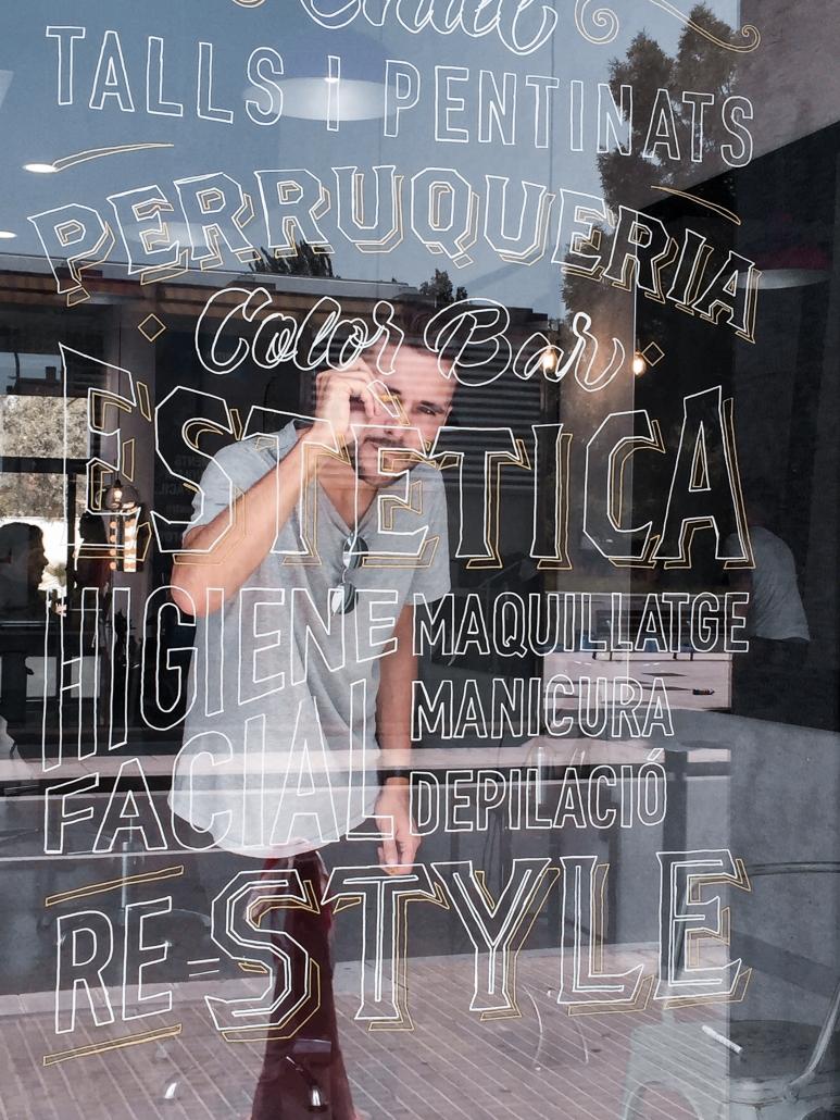 Dase Marc Álvarez Artist Graphic Designer Illustrator Muralist Calligrapher Lettering