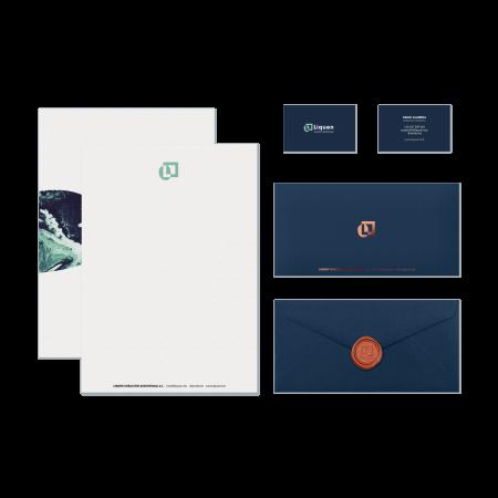 Liquen Diseño de Identidad Corporativa Branding Dase
